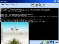 MPlayer on a Zaurus SL-C760